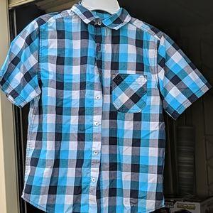 Boys paid shirt - button down